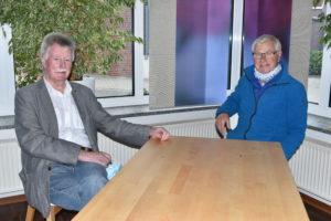 Fokko Saathoff und Heinz Buss, Kommissarische Spitze des SPD-Kreisverbandes Wittmund.
